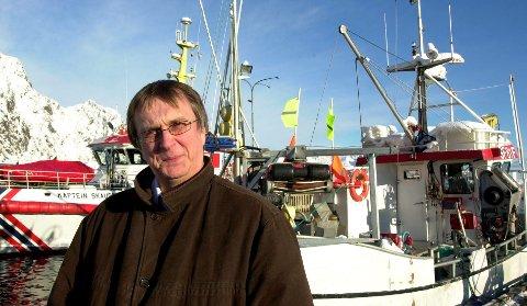 BÅTRUTE: – Det blir satt opp båtrute, sier Moskenes-rådmann Steinar Sæterdal Arkivfoto: Knut Johansen.