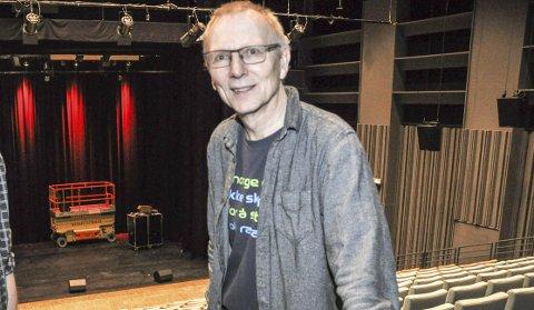 Har troa: Daglig leder i LINK, Knut Kirkesæther, forteller at tre konserter allerede er utsolgt. Han har troa på at dette kan bli et rekordår for LINK. Foto: Synne Mauseth