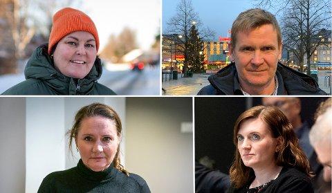LEDERKAMP? Heidi Linge og Roar Aas er begge ønsket som ny Ap-leder i Trondheim av kilder i partiet, mens det er uklart hvorvidt sittende leder Hanne Moe Bjørnbet (nede t.h.) vil fortsette. Valgkomitéleder Eva Kristin Hansen vil snart komme med deres innstilling.