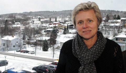 ORIENTERTE KOMMUNESTYRET: Kommunalsjef for helse, omsorg og velferd Randi Marta Berg i Søndre Land kommune.
