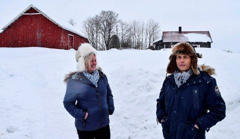 MOTBØR: Reidun og Audun Myskja møter motbør for planene om å etablere Mestringstunet på småbruket de kjøpte i Grøtbergleia i 2017.
