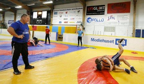 Kolbotn-bryteren Håvard Jørgensen får følge av seks klubbkollegaer til breddesamling og Arctic Cup i Bodø. Her under oppkjøringen til  junior-EM i 2015. FOTO: STIG PERSSON