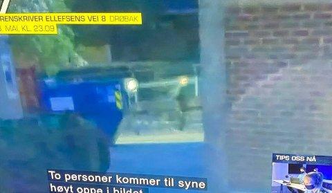 DRØBAK-TYVERIER: Åsted Norge tok opp to tyverier i Drøbak i slutten av mai. Her ser vi bilder fra TV-sendinga mandag kveld.