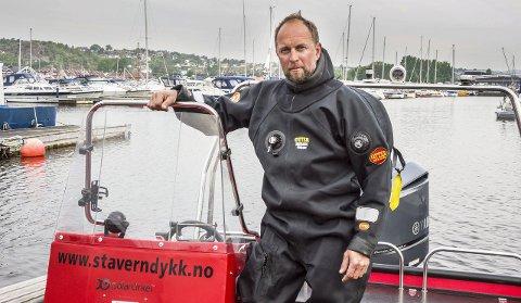 Nyttig møte: Leder i Stavern Dykkersenter, Roger Wisth, har vært i møte med flere personer i politiledelsen i Vestfold om dykkerberedskapen i fylket. – Jeg føler det var et veldig nyttig møte, sier Wisth.Arkivfoto