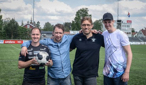 NY PODKAST: Anders Bronken og Per Steinar Krogsæter gjester podkasten til Jan Morten og Magnus denne uka.