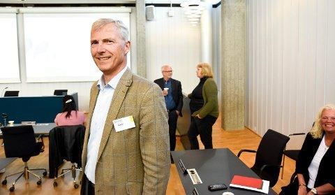 STØ KURS: Konsernsjef Øistein Andresen i Eidsiva Energi AS holder stø kurs mot fusjon med Hafslund E-CO.