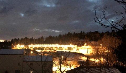En beboer i området har sendt dette bildet av Lofterød til kommunen.