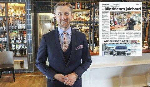 Sjøslag: Osebro-boss Knuttiputti Bjåland inviterer til tidenes sjøslag og elleville tilstander rundt ribbebuffeen. Foto. Johnny Walker