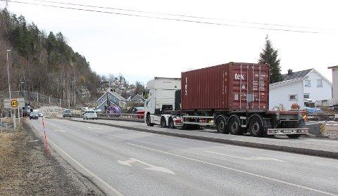 SKOLEVEI: Herøyavegen er ifølge KrF fylkets farligste.