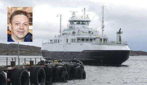 Daglig leder i Boreal sjø, Steinar Mathisen (innfelt), har stor to på at forsinkelser og kanselleringer skal være et passert kapittel.