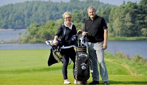 Anna og Derek Crawford har løftet Tyrifjord Golfklbubb til en standard som få kan matche her til lands. Hjertene banker både for menneskene, sporten og øya.