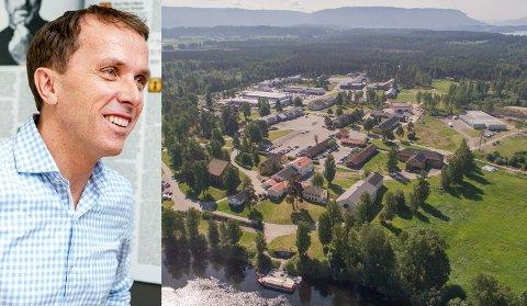 ENESTE EIER: – Vårt hovedmål er å øke antall arbeidsplasser og næringsaktiviteten på Helgelandsmoen, sier Nils Kjetil Tronrud, styreleder i XPND.