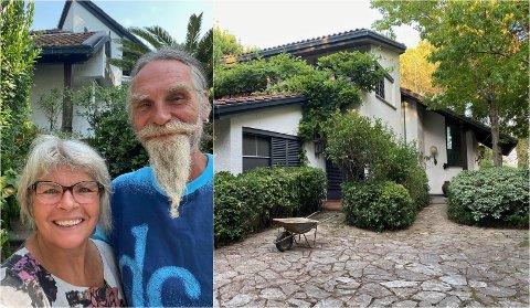 FORELSKET: Per Svendsen og Kari Hestnes er ikke bare forelsket i hverandre. De har også blitt hodestups forelsket i sitt nye hjem i Italia.
