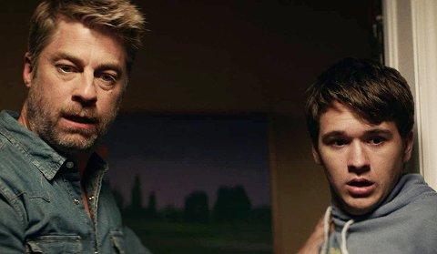 "Jamison Jones and John-Paul Howard in ""The Wretched."""