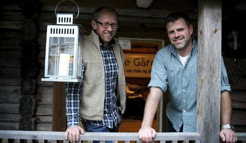 SATSER PÅ NISJEPRODUKSJON:  Kjell Myhrer og Tomas Arnheim slakter rundt 80 boergeiter hver høst, og selger kjøttet fra stabburet på gården. ALLE FOTO: ELISABETH JOHNSEN