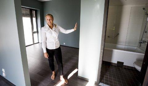 FIKK PRIS: Hotellsjef Jannicke Lorentzen ved Scandic- hotellet i Lillestrøm.