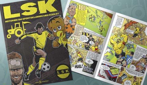 LSK: Historien om LSK skal bli dokumentert i tegneserieform.