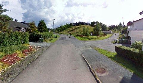 TATT: Langs Bekkedroga på Sørumsand ble mannen først observert av et vitne og så stanset av politiet. FOTO: GOOGLE MAPS