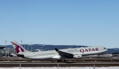BRØT ISOLASJONEN: EN mann fra Lillehammer valgte onsdag formiddag og sette seg på flyet fra Oslo lufthavn til Doha, til tross for han hadde fått påvist koronaviruset.