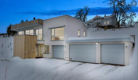 SOLGT: Den dyreste eiendommen som skiftet eier i gamle Aker i januar er Aspelundfaret 17 som gikk for 12,2 millioner kroner.