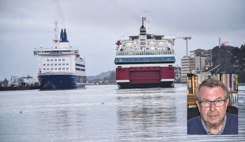 Det bør ikke være noen selvfølge at vi skal opprettholde ferjetrafikken i fjorden etter 2025, skriver Audun Tjomsland (innfelt).