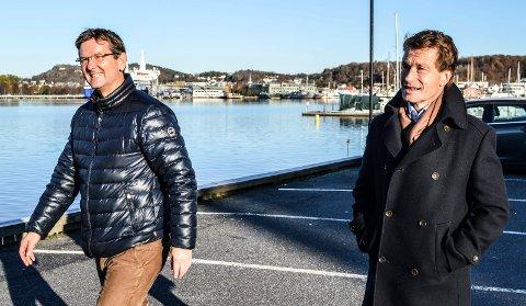 FAGSKOLE: I august neste år starter 60 studenter på den nye toårige fagskolen på Framnæs. Simon Hansen Elvestad (t.v.) og Atle Bjurstedt ser fram til å komme i gang, etter en nesten utmattende søknadsprosess.