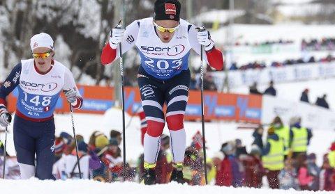 I FORM: Espen Udjus Frorud tok en sterk 14. plass blant de 285 i herreklassen.