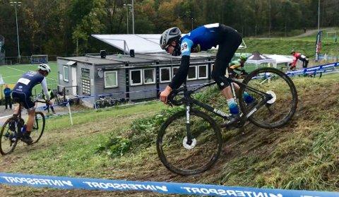 Vetle Eskedal fra Sola Cykleklubb deltar i norgescup sykkelkross i helgen.