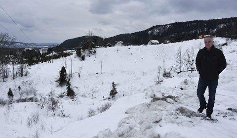 Fikk avslag: Bonde Sverre Iversen fikk nei til å drive med hjorteoppdrett på Ebbestad. Foto: Emma Huisman Moskvil