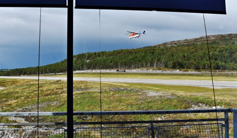Det ble mandag ettermiddag målt vind i 78 knop på toppen av Kvernberget.