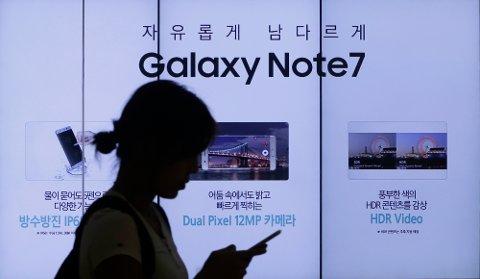 HAR FUNNET: Årsakene til feilen ved Samsung Galaxy Note 7 skyldes batterimodellen og produksjonsprosessen, melder selskapet.