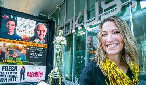 MYE FOLK: Aurora Kino Fokus har opplevd et voldsomt trykk den siste uka.