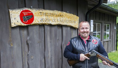 I østerådalen: Karl Egil Nylén håper landskampen i nordisk trap (en gren i leirdueskyting) kan arrangeres som planlagt. Arkivfoto