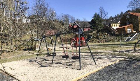 Nye tilskudd: Lyngbakken barnehage i Ramsdalen er den største i kommunen med 117 godkjente barnehageplasser. Barnehageopptaket 2021 viser at 14 nye barn skal begynne her til høsten. Foto: Marianne Stene