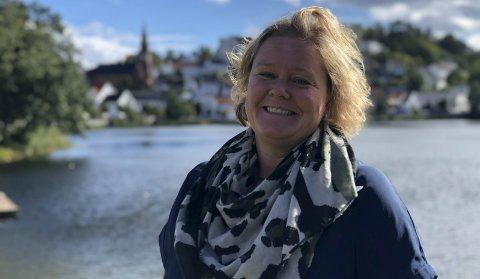Tvedestrandsskolen: Sektorleder Esther Kristine Hoel har grunn til å være fornøyd med utviklingen. Hun understreker at den er et resultat av flere års målrettet arbeid. Arkivfoto