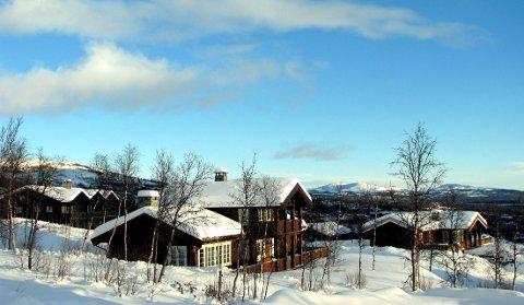 Mange hytter: Det er fleire hytter enn fastbuande innbyggjarar i Valdres.