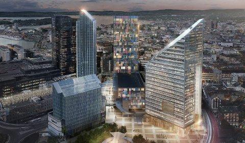 SLAKTES: Den nye høyhusstrategien kan åpne for høye bygg på 16 steder i Oslo. – Ikke lurt, mener arkitekt Erik Collett.