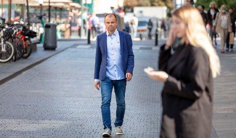 – MAKTSKIFTE: AOs valgekspert Svein Tore Marthinsen tror på en kraftig rødgrønn bevegelse.