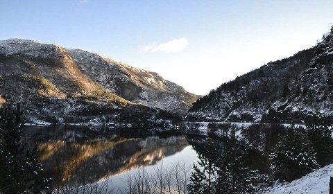 Norsk natur: Dette bilde vart tatt i området kor Jeanett bur. foto: Jan Blom Jul-Rasmusen