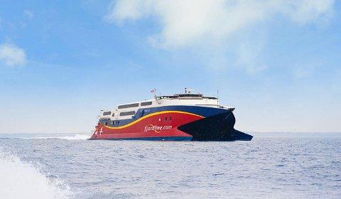 Fjordlines fartøy Fjord Cat har fått tekniske problemer, og må kanselleres.