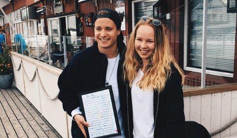 Neda Marija Miceviciute (16) møtte Kygo i fjor sommer.