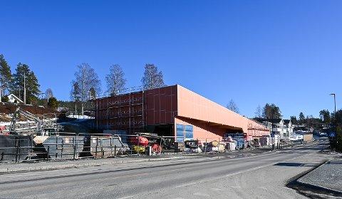 NY BUTIKK: Coop Prix Krøderen begynner å ta form og 24. juni vil innbyggerne i området igjen få sin egen dagligvareforretning.
