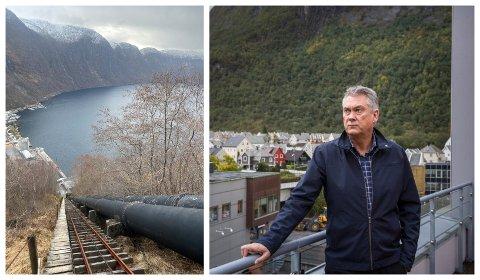 MØTE: Denne månaden skal Høyanger kommune ha møte med Statkraft om K1-trappene i Høyanger. Håpet er å kome eit steg nærare ei løysing.
