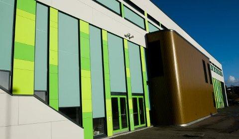 STENGT: Svømmehallen ved Borge Ungdomsskole er stengt frem til månedsskiftet januar/februar.