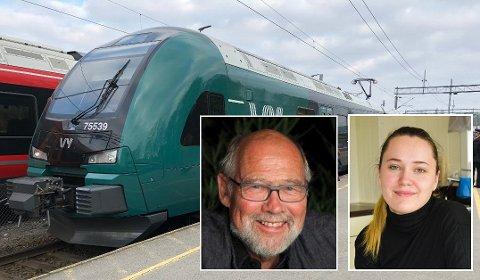 Stortingsrepresentant Svein Roald Hansen tar lærling Charlotte E. Martinsens klage på manglende studentrabatt hos Vy til næringsministeren.