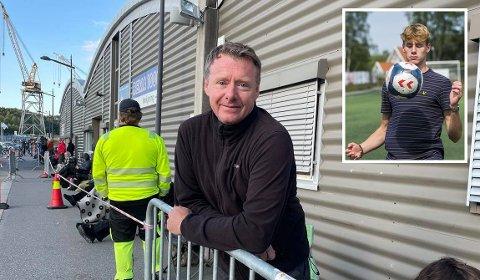 Ian Day gleder seg til å bli fullvaksinert, slik at han kan reise til Danmark og se sønnen Ethan (innfelt) spille fotball for FC København.