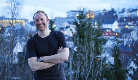 SYKEHUSALLIANSEN-FRONTFIGUR: Sverre Håkon Evju er Sykehusalliansens frontfigur - og mannen som gjorde «Vi blør ikke saktere» til et nasjonalt  slagord. Foto: Kristoffer Klem Bergersen