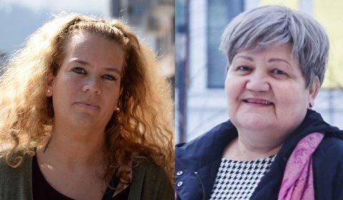 Rødts Lene Odlolien og Høyres Ann-Tove Dalhaug. Arkivfoto