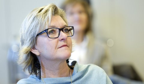 Ser sørover: Ordfører Wenche Huser Sund vender blikket mot sør og Akershus for Grue og distriktet sørover. Foto: Ole-Johnny Myhrvold