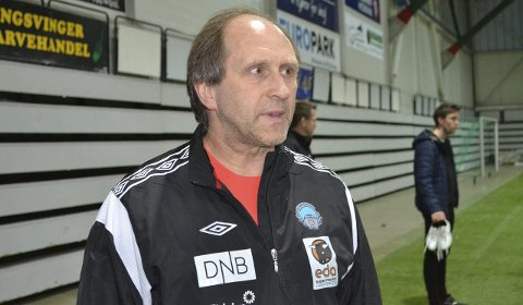Tryggere: Fotballpappa, Vidar Sanderud, er sammen med resten av foreldregruppa fornøyd med at deres håpefulle ikke trenger å reise til Tyrkia, men isteden får en alternativ treningsleir ett annet sted.